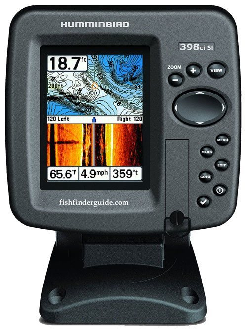 humminbird 398ci si review - fishfinderguide, Fish Finder