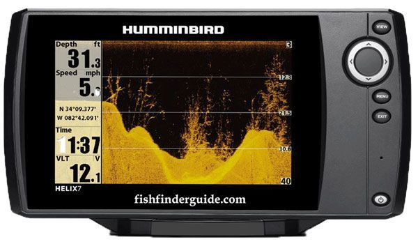 humminbird fishfinder helix 5 di - about types of fish, Fish Finder