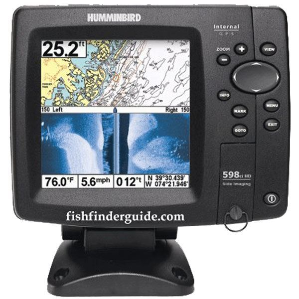 Hummingbird fish finders side imaging reviews for Fish finder reviews